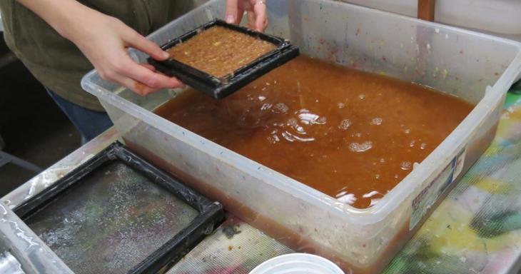 Papermaking Workshop-Photos