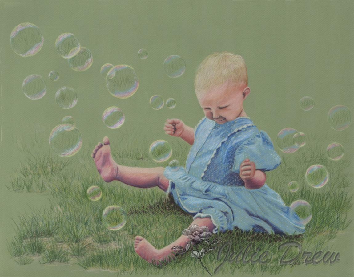 Come to Jesus as a Little Child - juliedrew-artandfaith.com