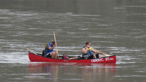 canoers on the NSR