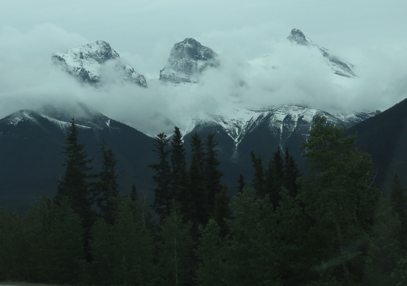 Three Sisters mountain in Banff