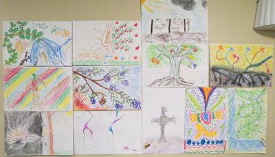 Art Vocabulary For the Soul Retreat-student work