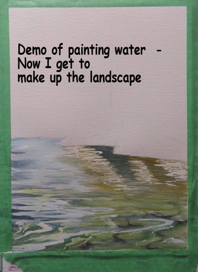 water demo