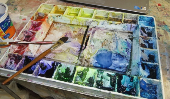 Watercolor Pallette