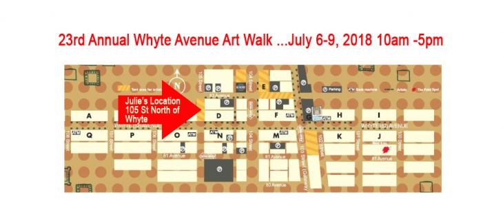 23rd Annual Whyte Ave Art Walk