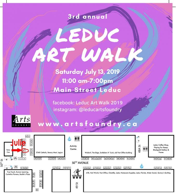 Leduc Art Walk