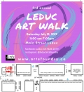 Leduc Art Walk