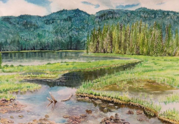 Hidden Depth - A Painting Journey