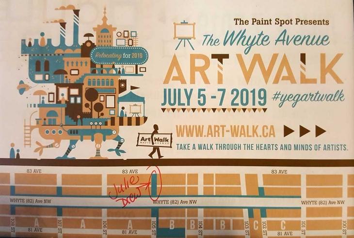 Art Walk July 5-7, 2019
