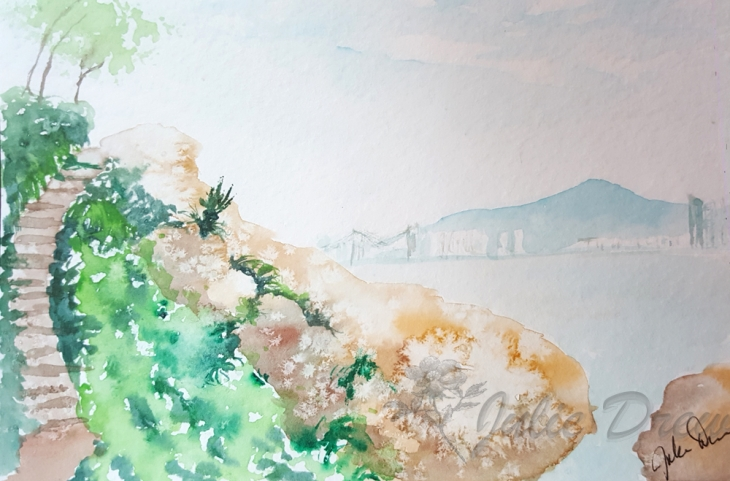 Sketching in Korea