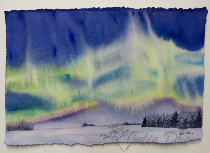 Virtual Art Show: Northern Lights